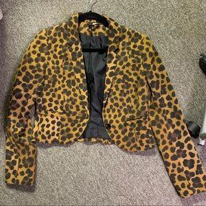 Leopard Blazer [H&M].